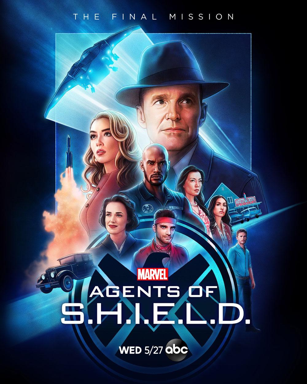 Póster de la Séptima Temporada de Agents of S.H.I.E.L.D.
