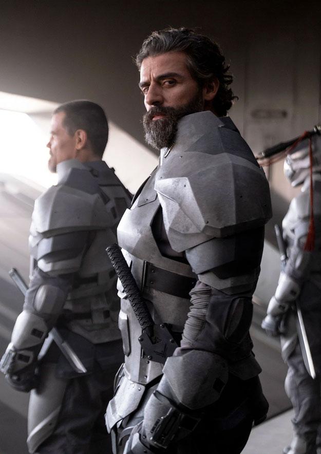 Oscar Isaac (Duque Leto Atreides) en Dune de Denis Villeneuve