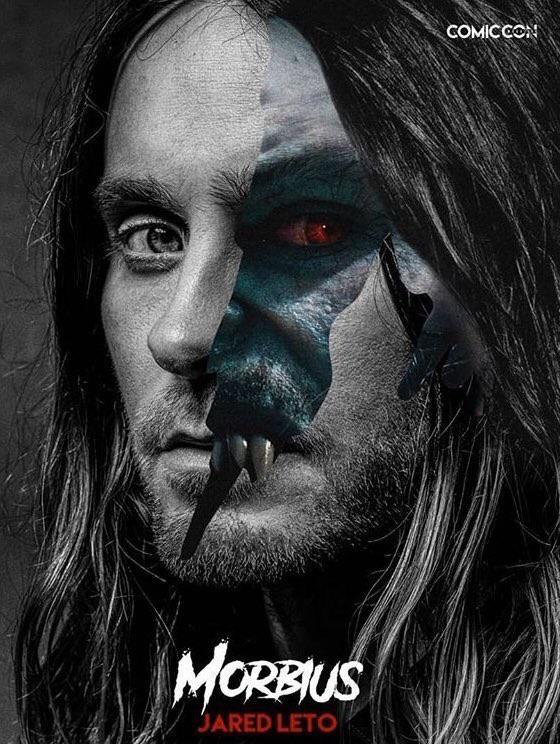Primer póster de Morbius