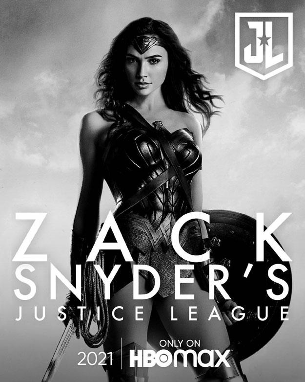Póster de Zack Snyder's Justice League