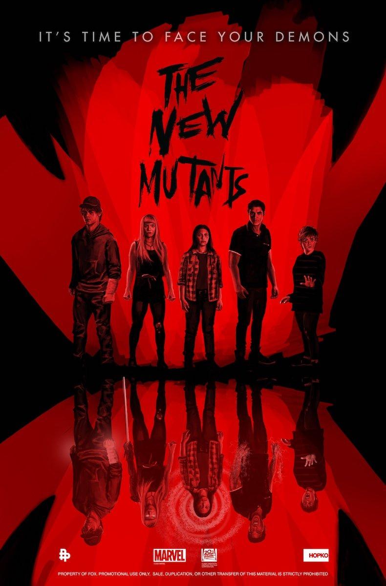 Póster de The New Mutants