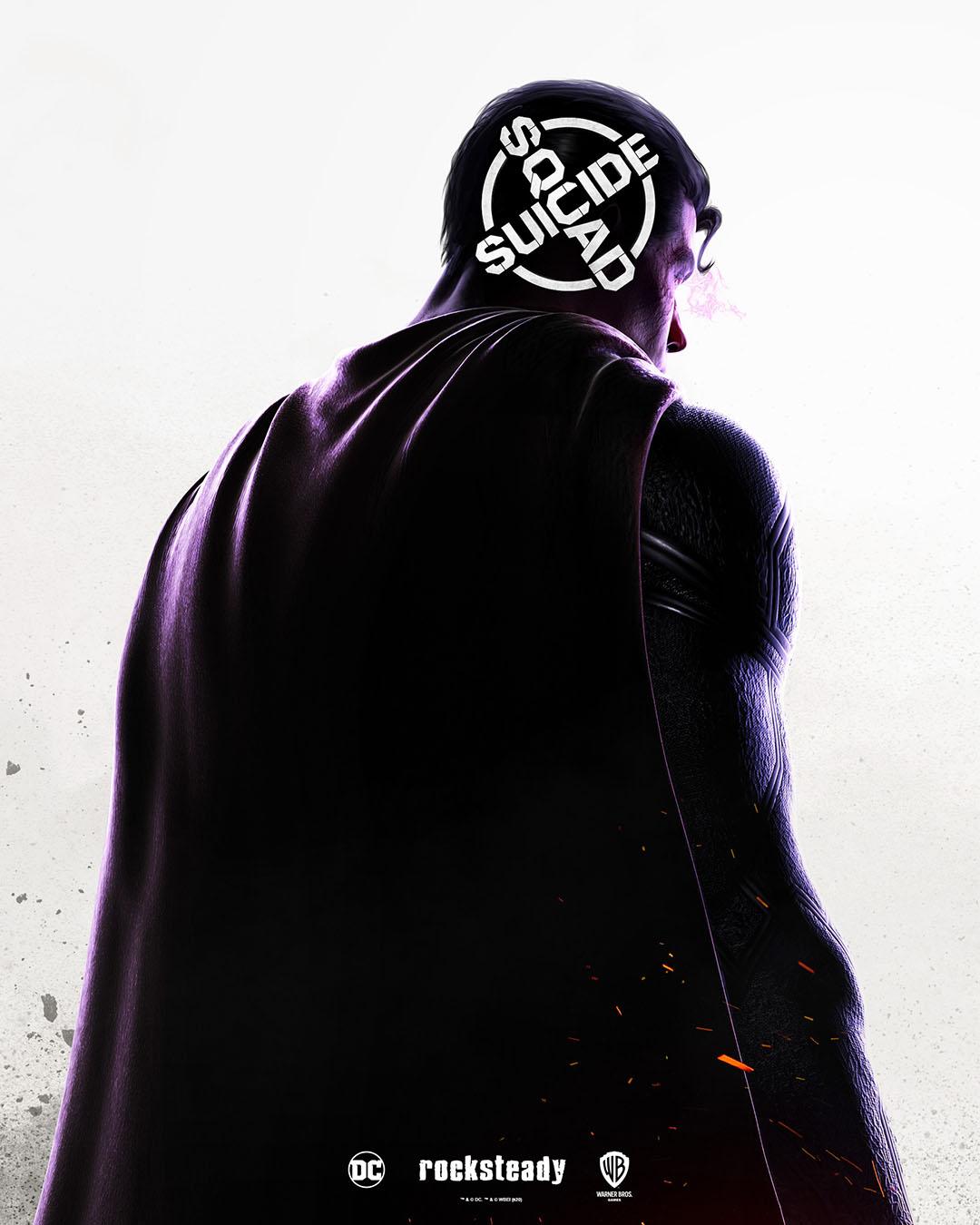 Primer póster del videojuego Suicide Squad que prepara Rocksteady Studios