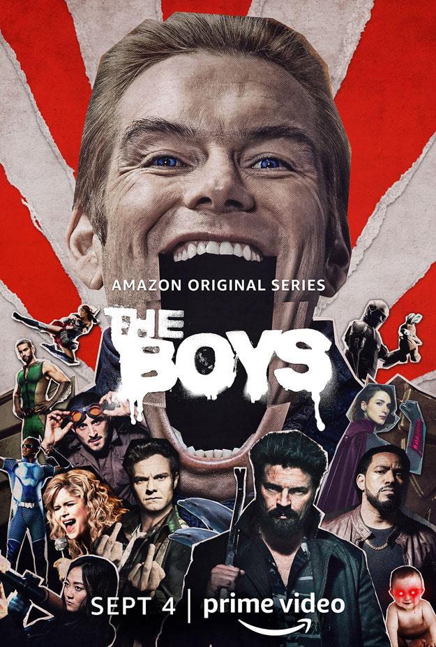 Póster de la segunda temporada de The Boys