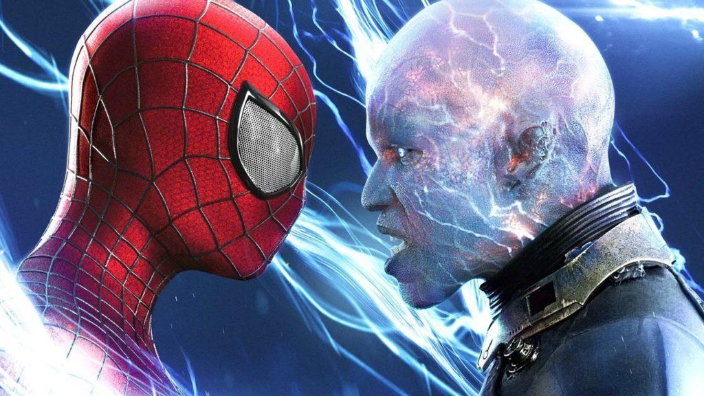 Jamie Foxx como Electro en The Amazing Spider-Man 2