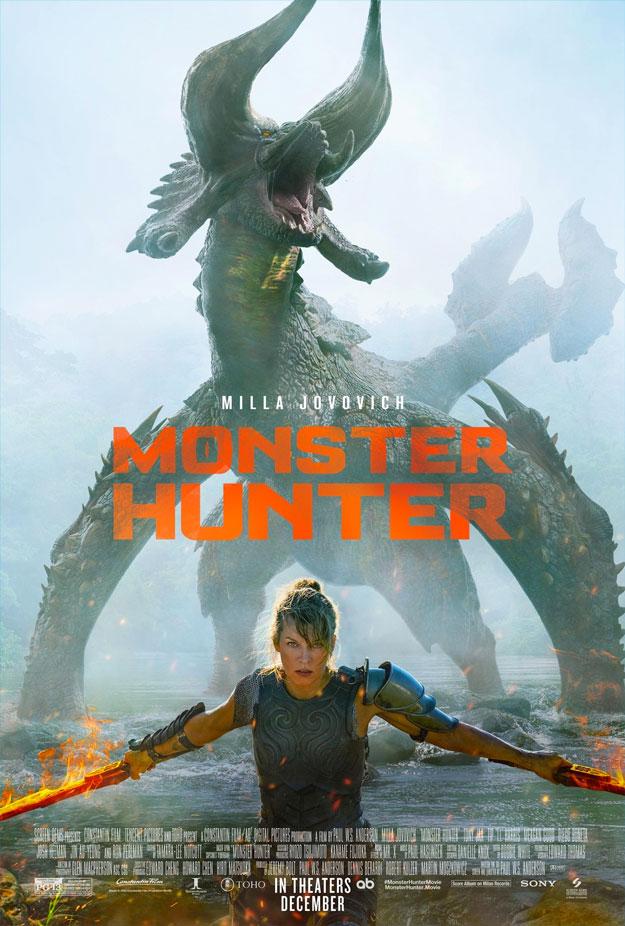 Póster de Monster Hunter