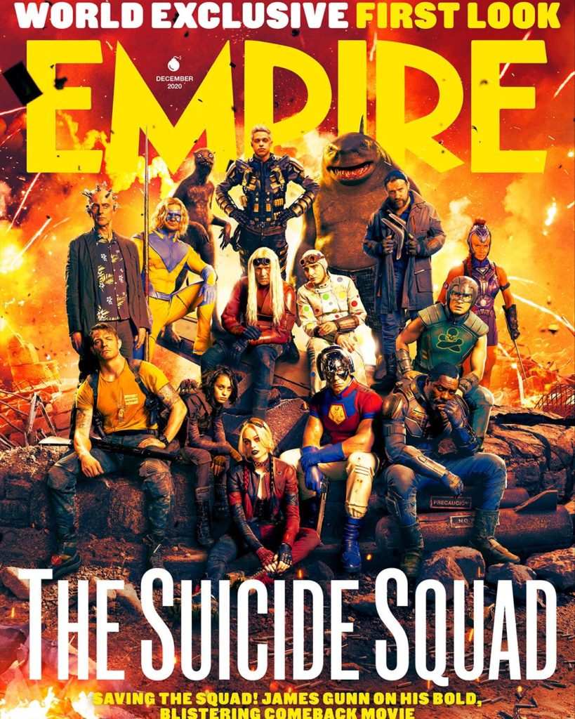 Portada de Empire dedicada a The Suicide Squad