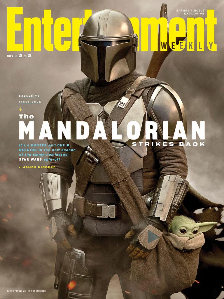 Portada de Entertainment Weekly dedicada a la segunda temporada de The Mandalorian