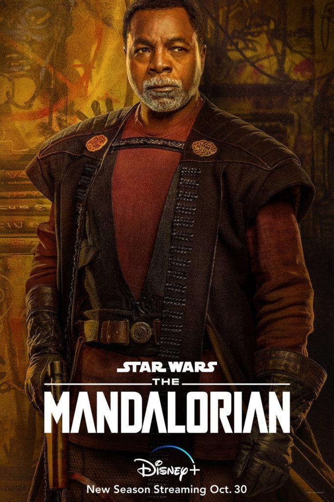 Póster de la segunda temporada de The Mandalorian