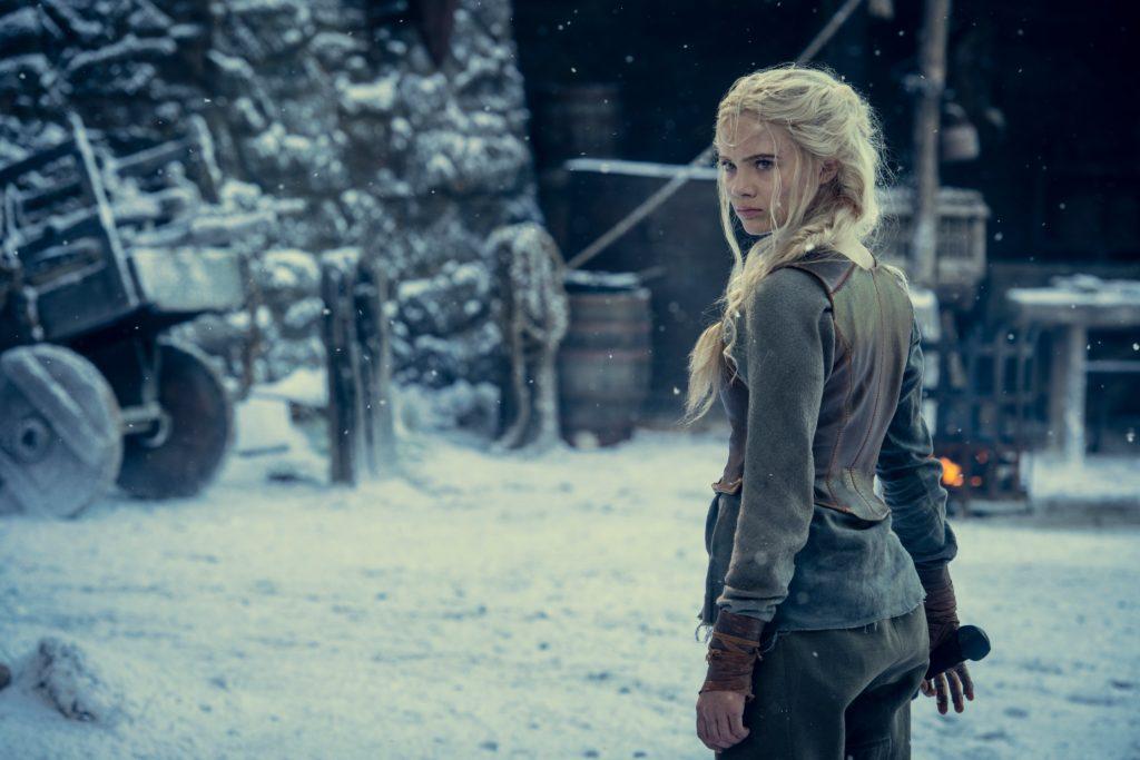 Ciri en la segunda temporada de The Witcher