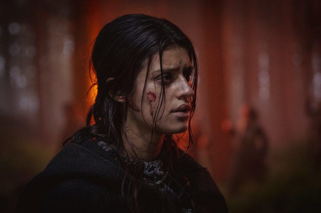 Jennefer en la segunda temporada de The Witcher