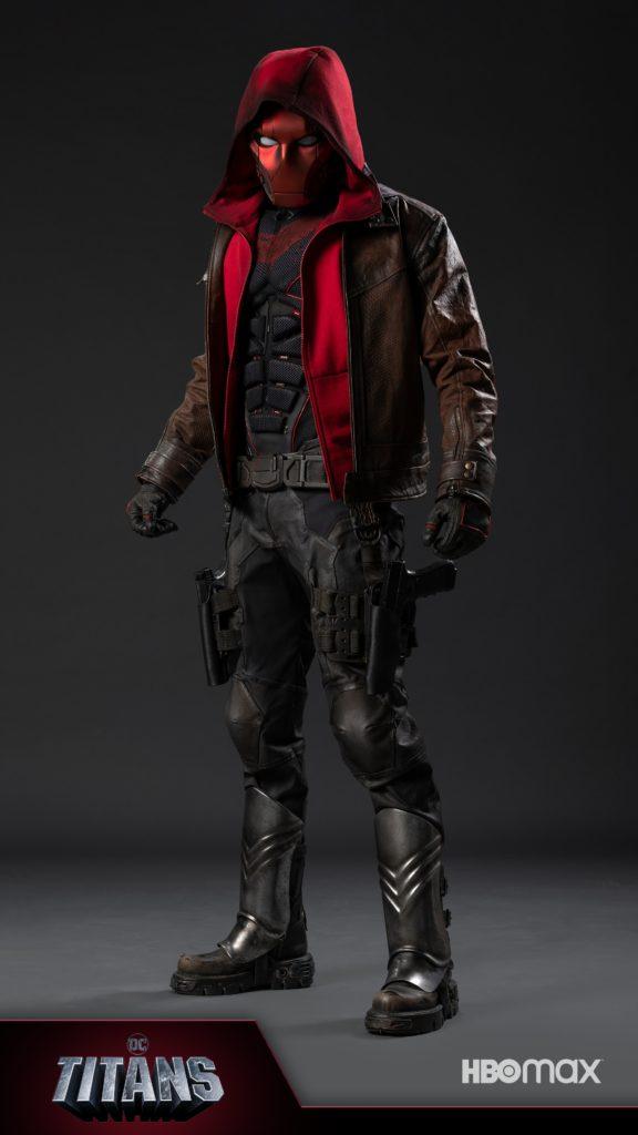 Primera imagen de Red Hood en la tercera temporada de Titans