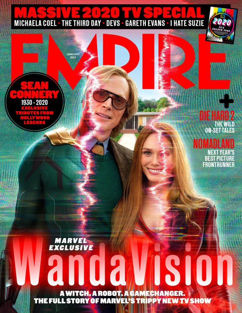 Portada de la revista Empire dedicada a WandaVision