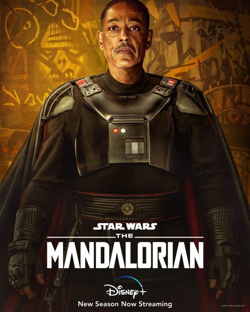 Moff Gideon en la segunda temporada de The Mandalorian