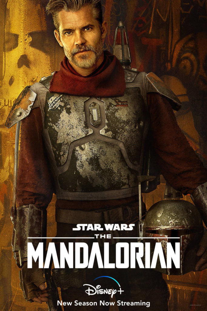 Cobb Vanth en la segunda temporada de The Mandalorian