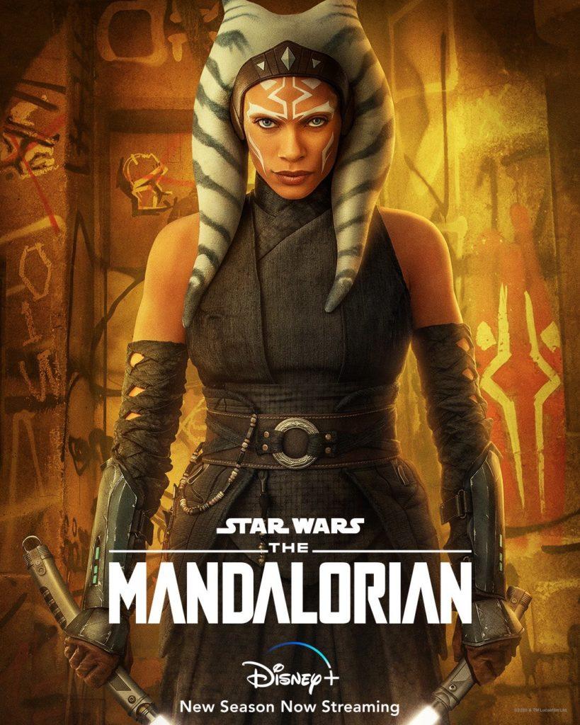 Ahsoka Tano en la segunda temporada de The Mandalorian