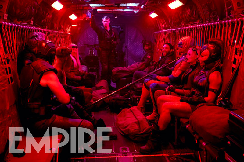 Imagen de The Suicide Squad de James Gunn publicada por la revista Empire