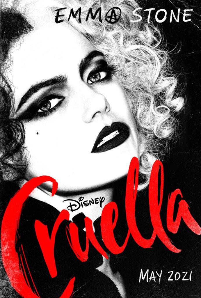Primer póster de Cruella