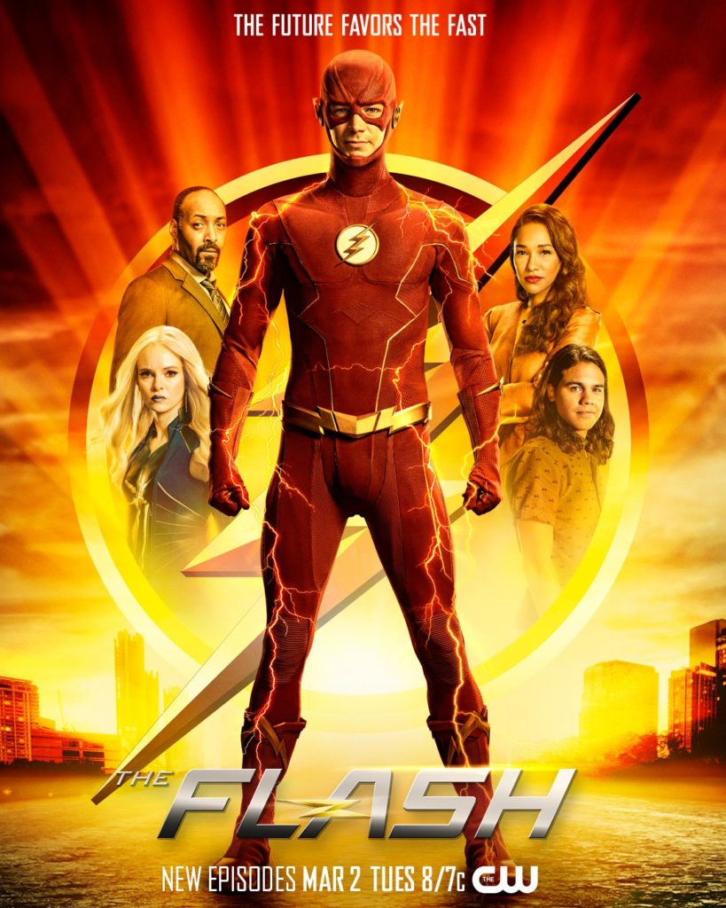 Póster de la séptima temporada de The Flash