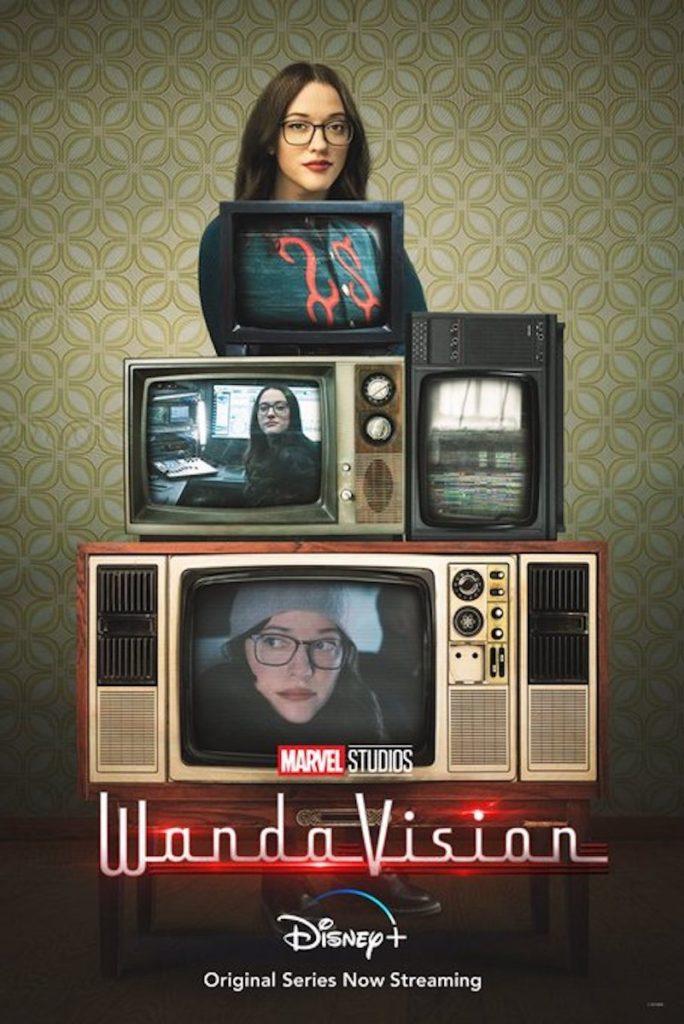 Póster de WandaVision protagonizado por Darcy Lewis