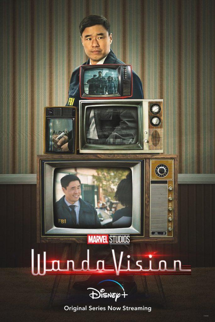 Póster de WandaVision protagonizado por Jimmy Woo