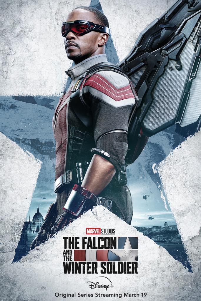 Póster de The Falcon and The Winter Soldier protagonizado por Falcon