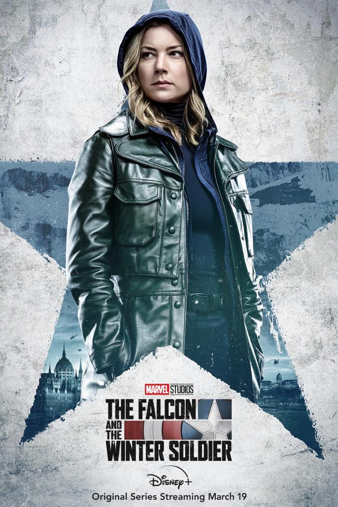Póster de The Falcon and The Winter Soldier protagonizado por Sharon Carter