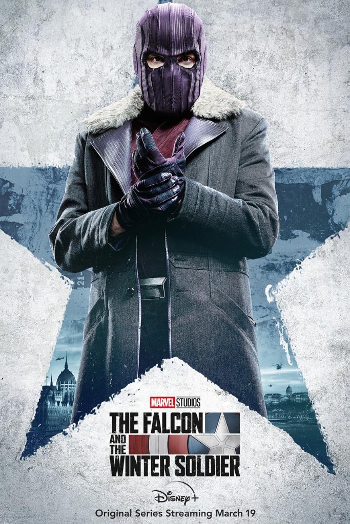 Póster de The Falcon and The Winter Soldier protagonizado por Helmut Zemo