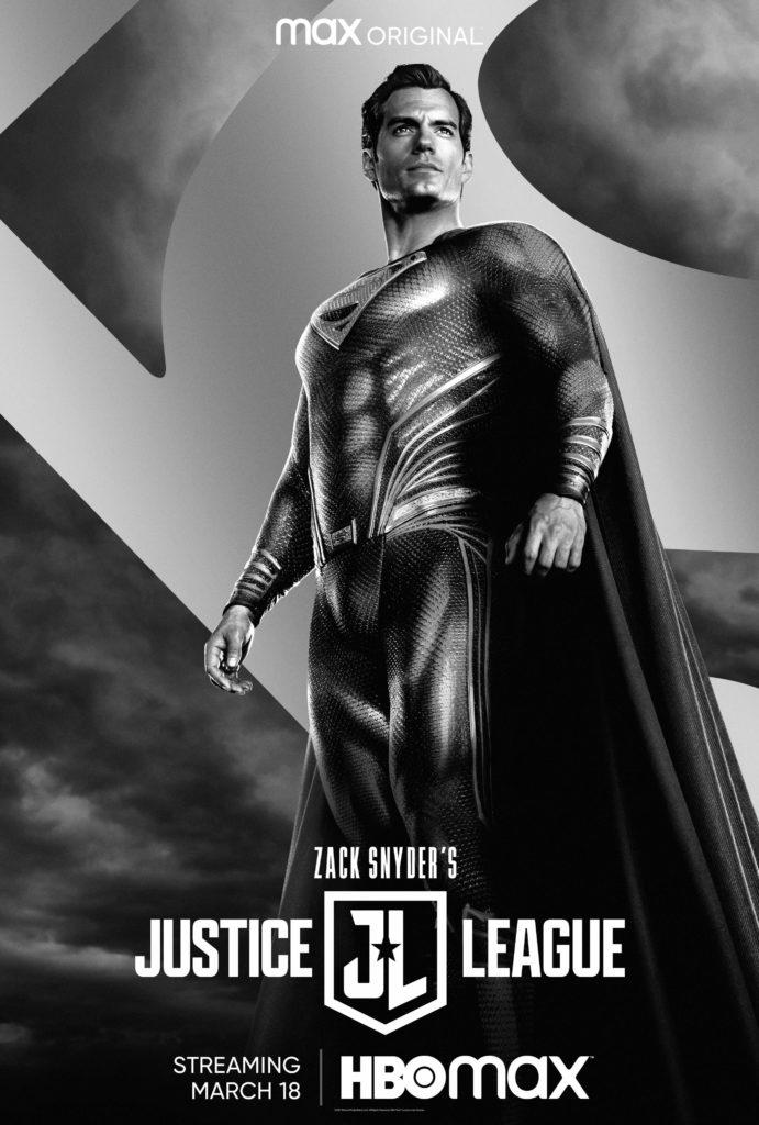 Póster de Zack Snyder's Justice League protagonizado por Superman