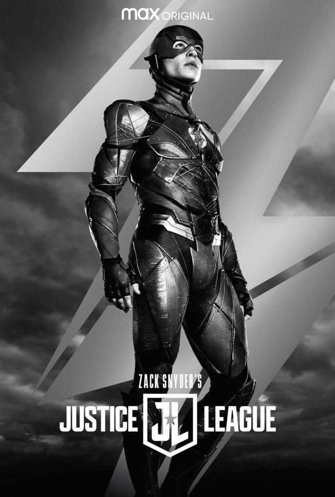 Póster de Zack Snyder's Justice League protagonizado por Flash