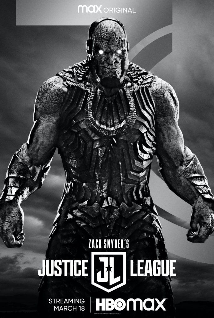 Póster de Zack Snyder's Justice League protagonizado por Darkseid