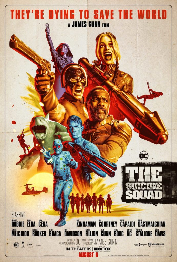 Póster de The Suicide Squad de James Gunn