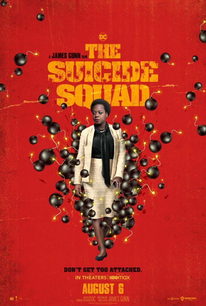 Póster protagonizado por Amanda Waller para The Suicide Squad de James Gunn