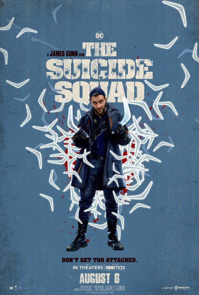 Póster protagonizado por Capitán Boomerang para The Suicide Squad de James Gunn