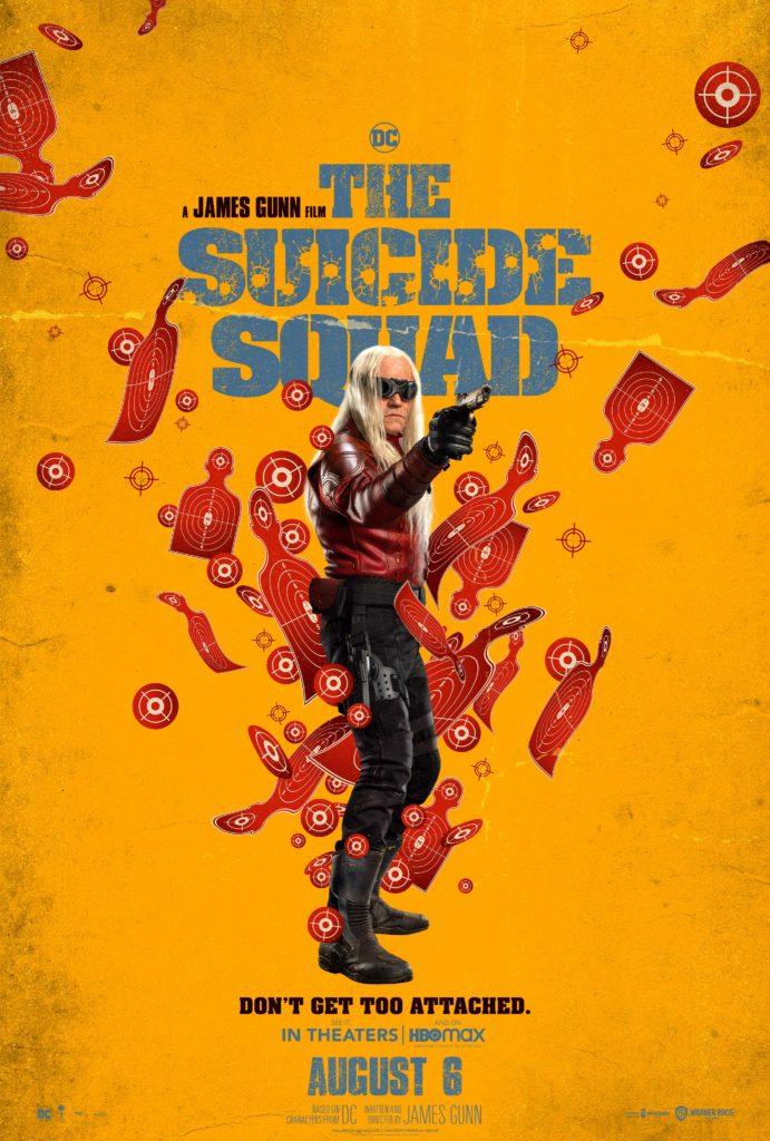 Póster protagonizado por Savant para The Suicide Squad de James Gunn