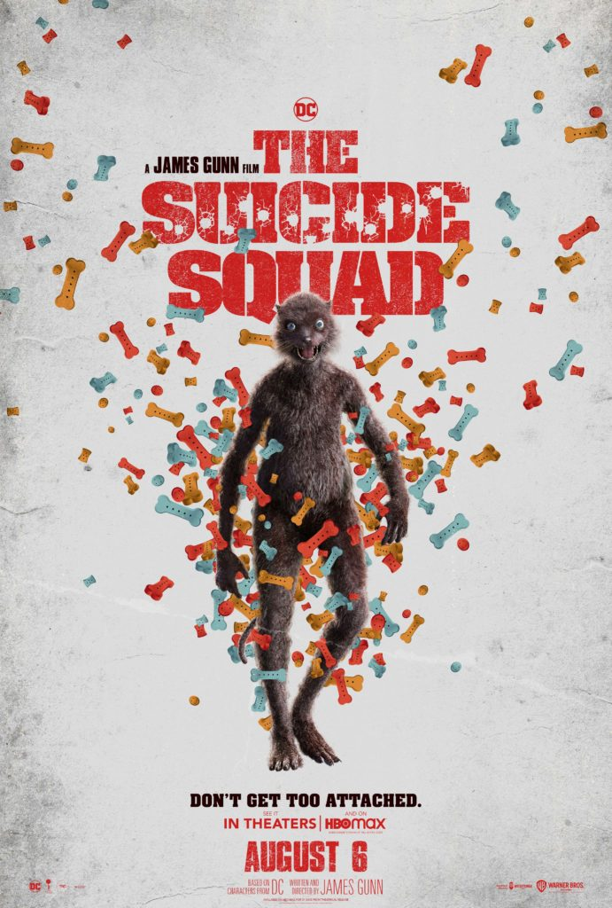 Póster protagonizado por Weasel para The Suicide Squad de James Gunn
