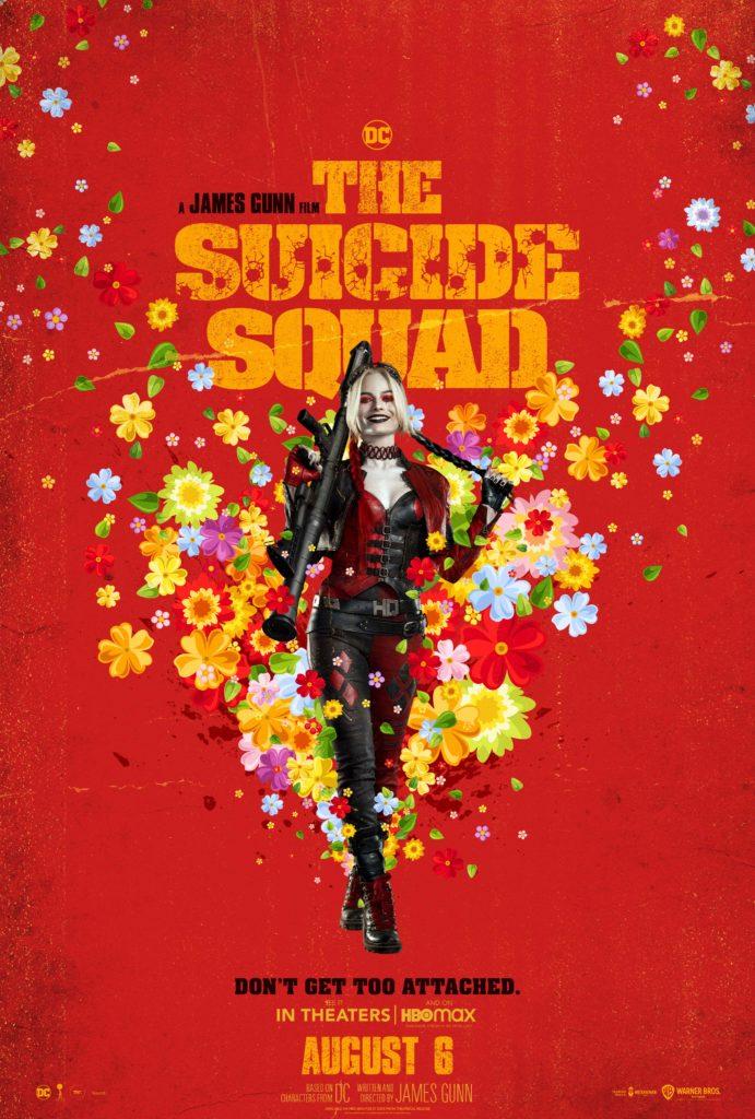 Póster protagonizado por Harley Quinn para The Suicide Squad de James Gunn