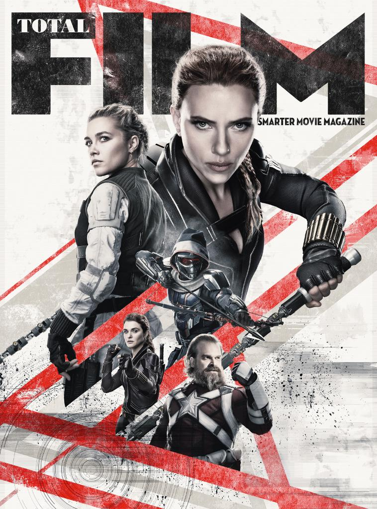 Portada de la revista Total Film dedicada a Black Widow