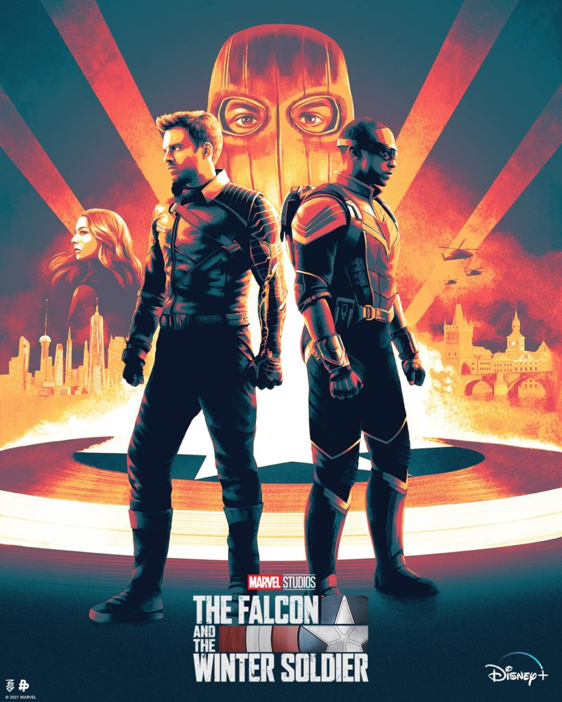 Espectacular póster de The Falcon and The Winter Soldier