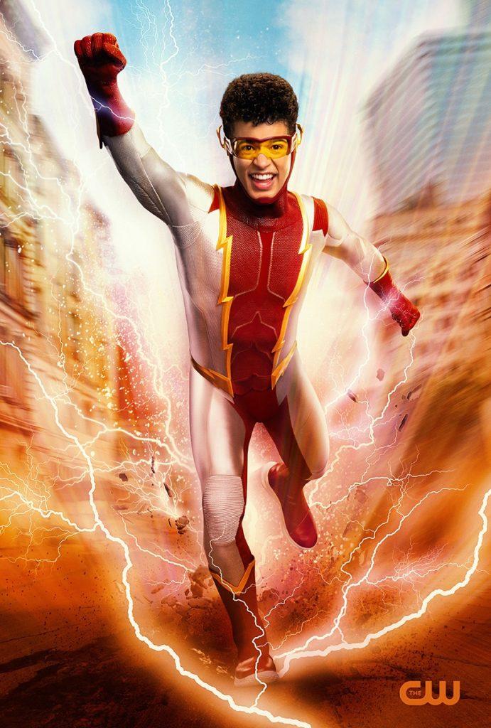 Jordan Fisher como Bart Allen/Impulso en The Flash