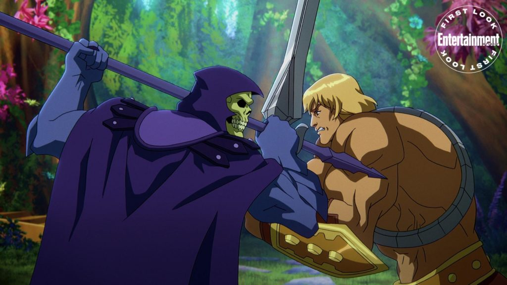He-Man y Skeletor en Masters of the Universe: Revelation