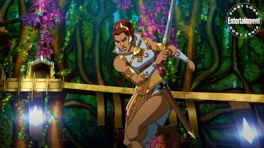 Teela en Masters of the Universe: Revelation