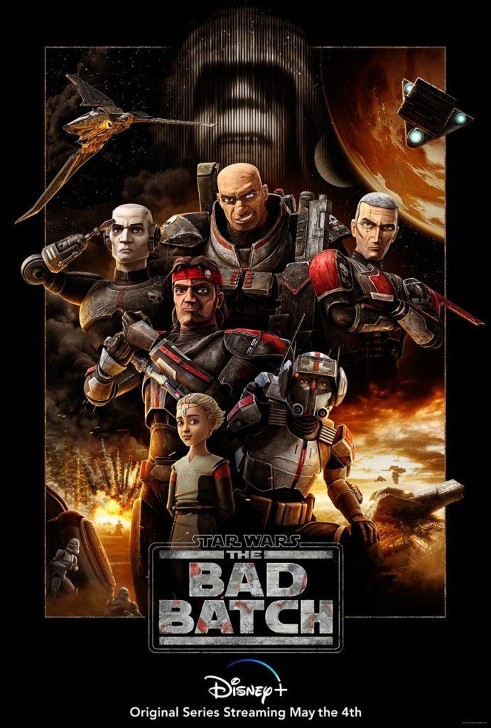 Primer póster de Star Wars: The Bad Batch