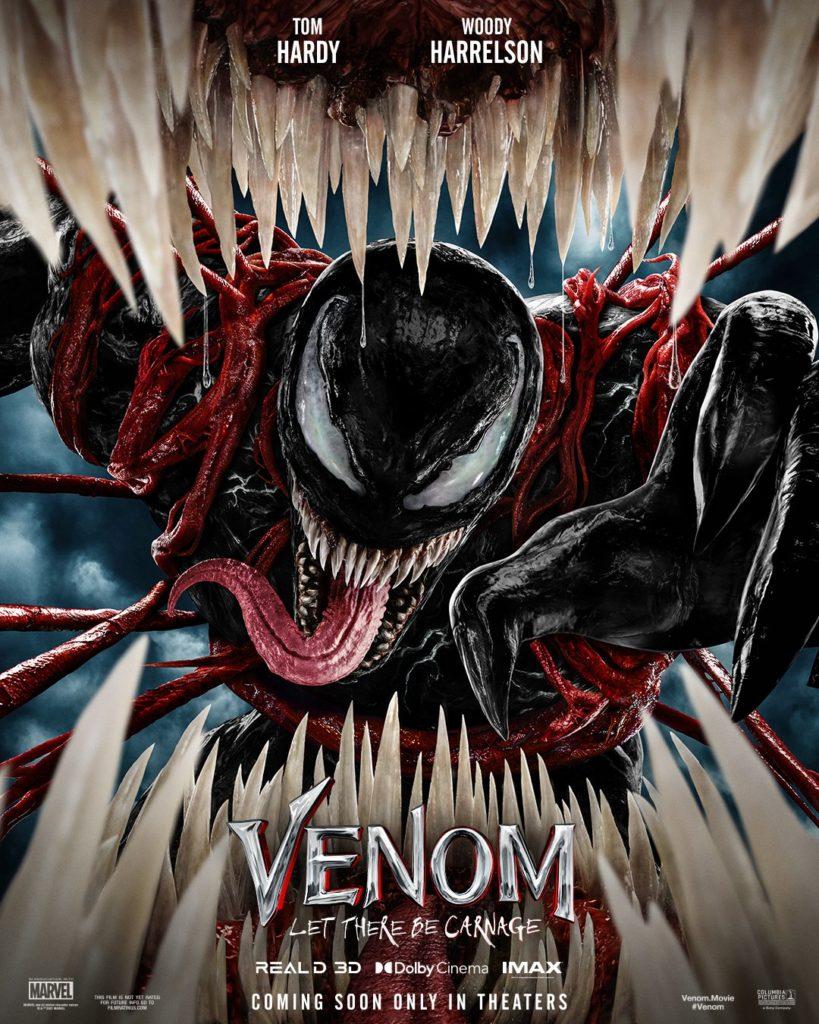 Primer póster de Venom: Let There Be Carnage