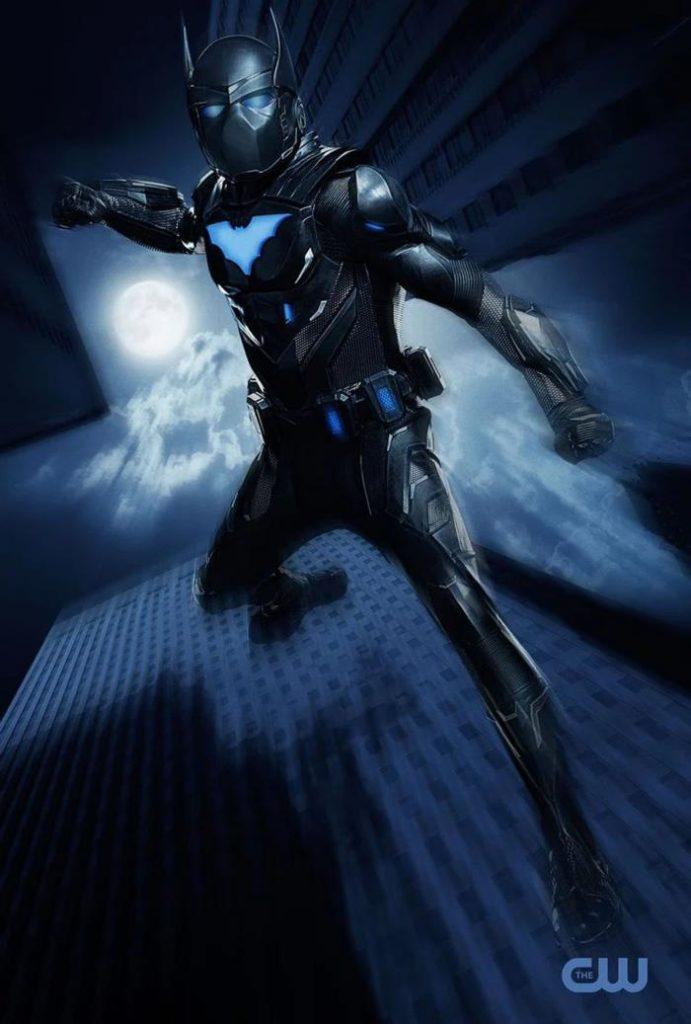 Camrus Johnson como Batwing en Batwoman