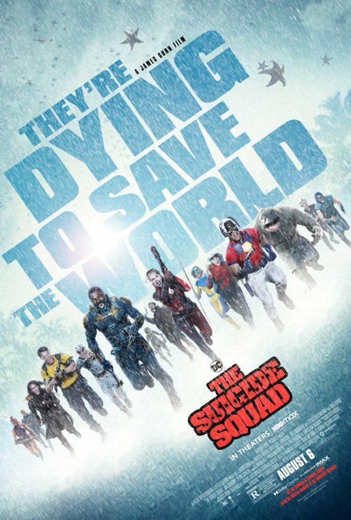 Póster de The Suicide Squad de James Gunn