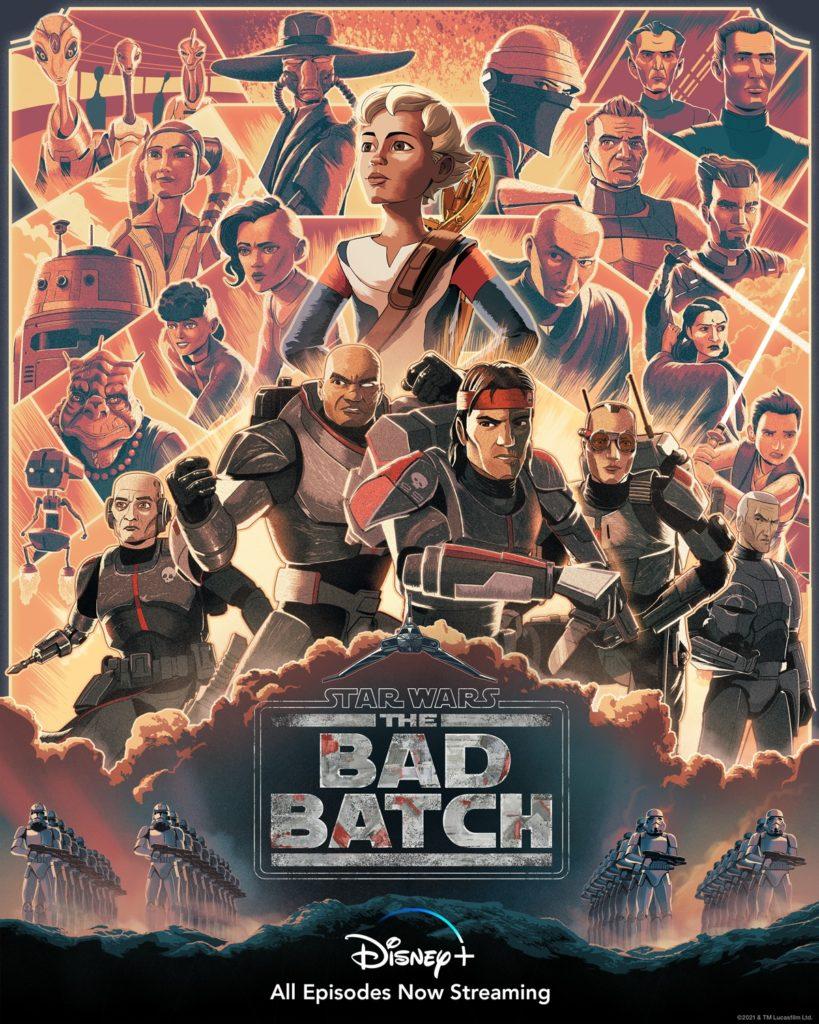 Póster de Star Wars: The Bad Batch