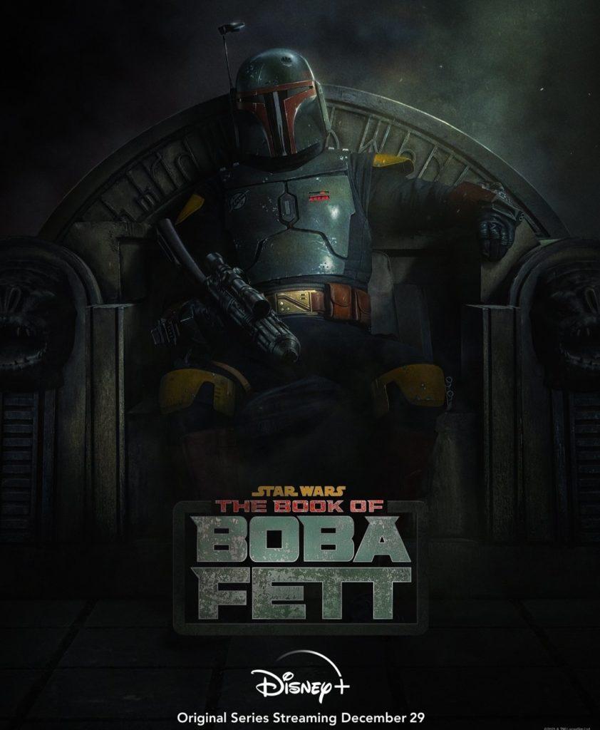 Primer póster de The Book of Boba Fett