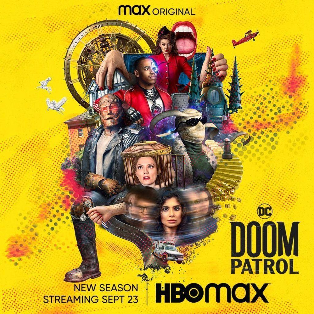 Póster de la tercera temporada de Doom Patrol