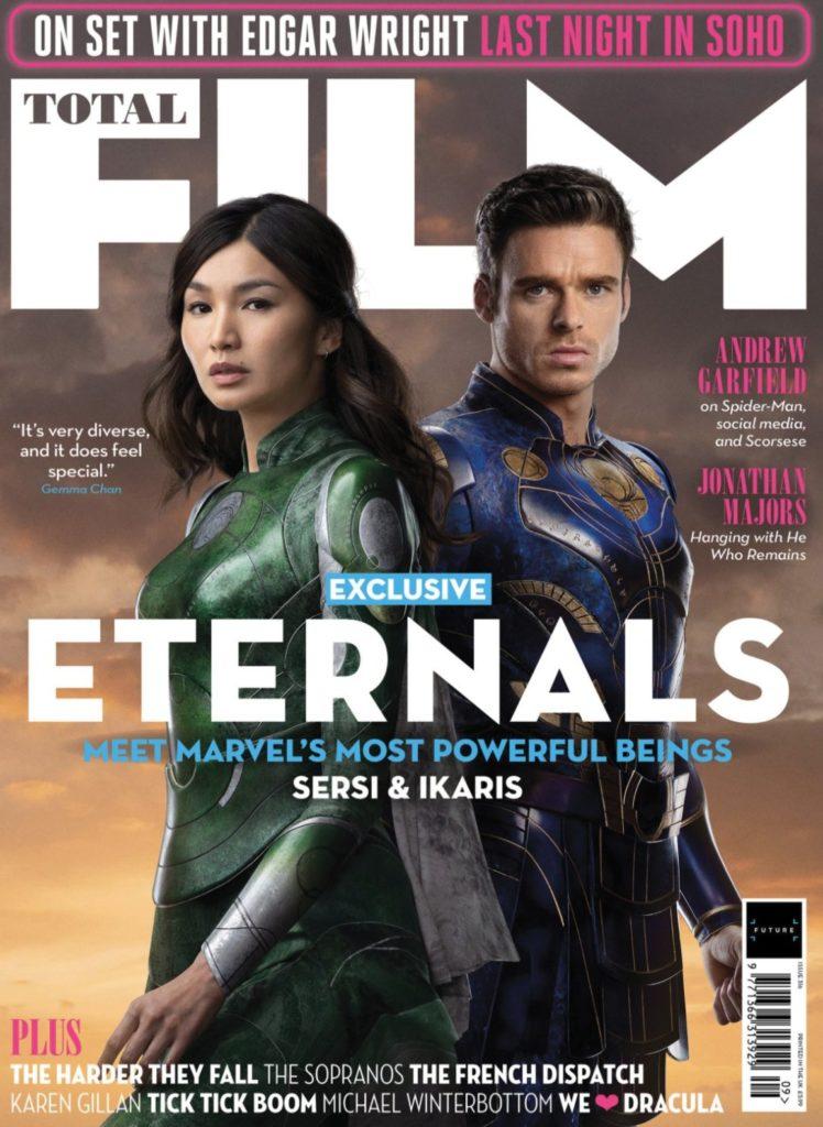Portada de la revista Total Film dedicada a Eternals