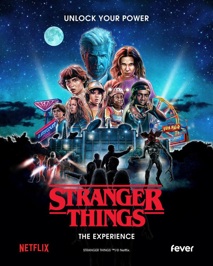 Póster de la cuarta temporada de Stranger Things